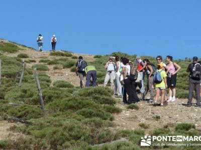 Parada ascensión Pico del Nevero - excursiones montaña Madrid; excursiones sierra madrid